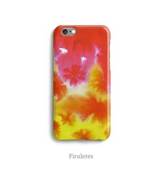 Watercolor Case iPhone 6 6s 5 5s 5c 4 4s Samsung by Firuletes