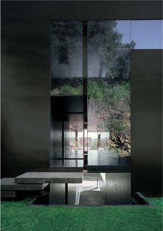 subtilitas:  RCR Arquitectes - Entry detail at the House for a Carpenter, Olot 2007. Previously, scanned from here.