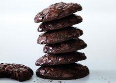 Chocolate Brownie Cookies aka Gluten free stacks of heaven!