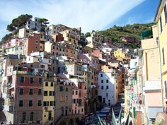 Cinque Terre - This is the village of Rio Maggiore, the southern-most village out of five on the Ligurian coast of Italy.