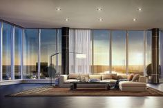The $37.5 million penthouse, which will take up the entire top floor of the new tower, is about the size of a country estate or mansion.