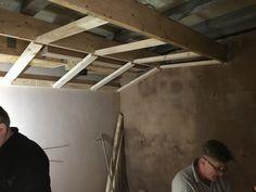 Shaped ceilings in Cedar West Recording Studio, Leeds
