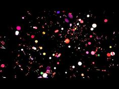 4K Magical Rainbow Blink Bulbs Realm Background video - YouTube