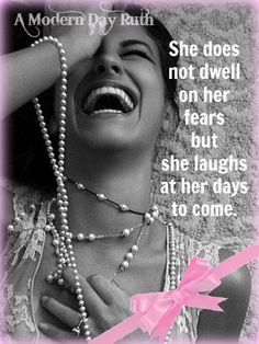 The beautiful thing about adversities we go thru is the polished pearls of wisdom we gain. Wear them proudly as reminders not to make the same mistakes twice. ~ A Modern Day Ruth
