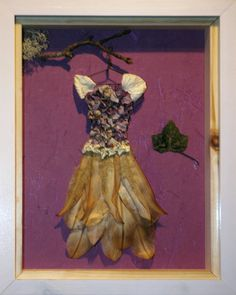 The Faerie Tailor's Clothing - Hydrangea bodice with lily and fern skirt