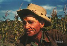 Mr. Jim Norris at his farm