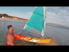 Convert a Kayak into a SailBoat • How To Make it - YouTube