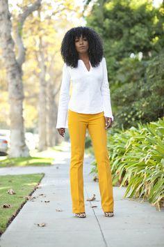 Tunic x Pintuck Pants