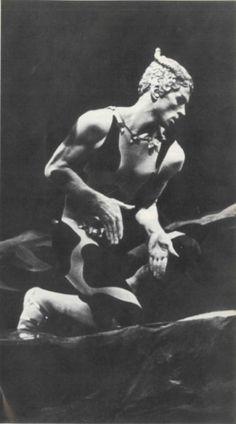 Apres-Midi d'un Faun (Bakst design for Ballet Russe):  Nureyev