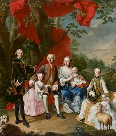Martin van Meytens Yr., The Family of Count Nikolaus Pálffy of Erdöd, around 1760