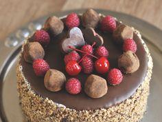 Narozeninový čokoládový Margot dort