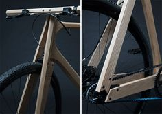Bicicleta de fresno de Paul Timmer