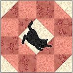 Kitty quilt blocks