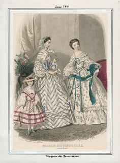 June, 1861 - Magasin des Demoiselles
