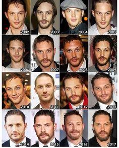 The evolution of tom hardy Romy Schneider, Tom Hardy Hot, Bae, Tom S, Thing 1, Sexy Men, Hot Men, Sexy Guys, Celebrity Crush