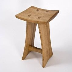 a little different ... enough to be WOW Small Furniture, Handmade Furniture, Furniture Projects, Rustic Furniture, Diy Furniture, Furniture Design, Modern Furniture, Stool Chair, Wood Stool