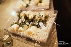 White rose for groom's boutonniere || Wedding Flowers