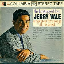 JERRY VALE - The language of love
