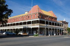 Palace Hotel, Broken Hill, New South Wales, Australia Australia Hotels, Australia Living, South Australia, Australia Travel, Adventures Abroad, Old Pub, Land Of Oz, Rock Pools, Palace Hotel