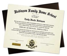 The Personalized Homeschool Diploma includes a deluxe padded cover. It is professionally printed in black ink with your family's school name arched at the top. Choose from 4 wording options and many other features!  #homeschool #highschoolgraduation #homeschoolgraduation #hs #hsgraduation #bibleverse #quote #personalize  #diplomas #certificates #hsdiplomas #graduation #commencement