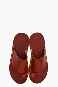 one of the few sandals a man can wear seriously | without mustering irony | serious sandals | martin margiela