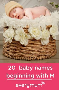 20 Marvellous Baby Names Beginning With The Letter M. M is for… Marvellous. Here is a collection you can choose from for your marvellous little one. Ranging from traditional to more adventurous, you are sure to find something you love! Celebrity Baby Pictures, Celebrity Baby Names, Celebrity Babies, Celtic Baby Names, Irish Baby Names, Vintage Baby Names, Baby Name Letters, Unisex Baby Names, Name Inspiration