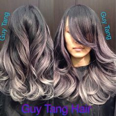 Silver metallic amethyst ombré I did today on my client Alice! It was fun! I love fantasy colors! It matchesher personality! Great day ! Like and tag a friend to share! #guytang #guy_tang #guytanghair #ombre #omg #balayage #beautiful #pow #hair #hairstyle #hairandnailfashion