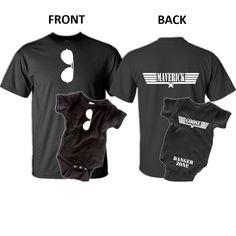Maverick Goose, Father Son T-Shirt Set