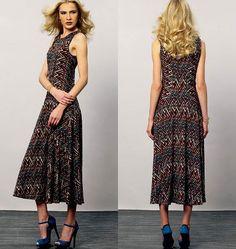 Misses Dress Vogue Pattern 8871.