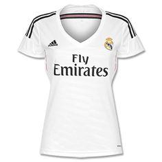 Adidas Real Madrid Home Womens Shirt 2014 2015 Real Madrid Home Womens Shirt 2014 2015 http://www.comparestoreprices.co.uk/football-shirts/adidas-real-madrid-home-womens-shirt-2014-2015.asp