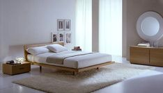 Cream+modern+italian+bedroom+furniture | Modern Italian Wooden Bed Chic  Italian