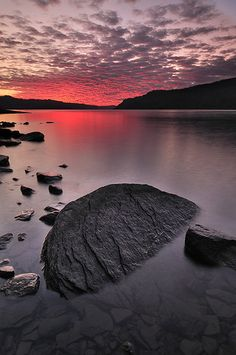 Colorful Sunset Sky - Columbia River Gorge