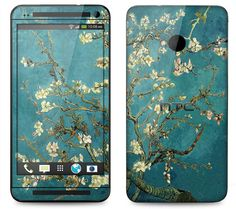 HTC One Case Decal Skin Cover  Van Gogh  Blossoming by skunkwraps, $9.95