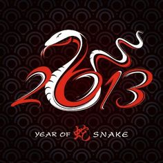 According to the Chinese lunar calendar, Chinese New Year, the Year of the Snake begins its reign at the stroke of midnight on February Happy Lunar New Year, Happy Chinese New Year, Happy Year, Chun Li, Horoscope Elements, New Years Eve Events, Year Of The Snake, Chinese Astrology, Snake Design