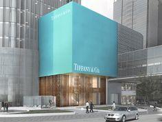 Tiffany & Co. Shanghai Store. Photo: Cal Otero