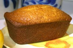 Lemon Amish Friendship Bread. We made a glaze for the top. Smells heavenly! ...This was SO YUMMY! It went very fast! We loved the glaze on it and the crunchy, sugary outside.