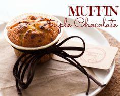 La barchetta di carta di zucchero: Muffin triple chocolate... e il bisogno di coccole!