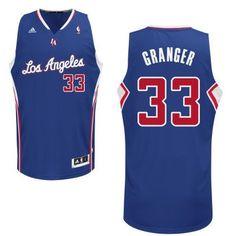 Los Angeles Clippers #33 Danny Granger Revolution 30 Swingman Blue Jersey