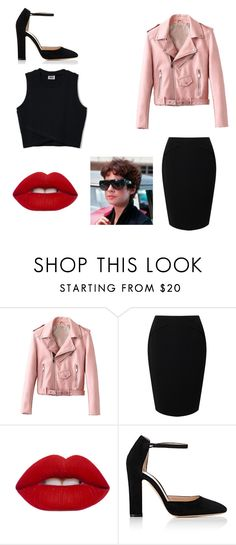 """Grease.... RIZZO"" by leilani-875 ❤ liked on Polyvore featuring Jacques Vert, Lime Crime and Gianvito Rossi"