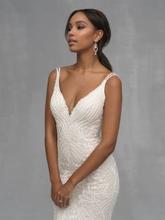 Try it on at Ellie's Bridal Boutique (Alexandria, VA) – Allure Couture Garden Wedding Dresses, Country Wedding Dresses, Black Wedding Dresses, Elegant Wedding Dress, Bridal Wedding Dresses, Bridesmaid Dresses, Red Wedding, Wedding Tips, Summer Wedding