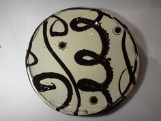Dylan Bowen platter, from Ruthin Craft Centre, North Wales