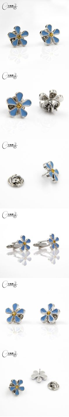 Small orchid brooch needle pinch buckle brooch accessories literary style temperament ladies cufflinks shirt male