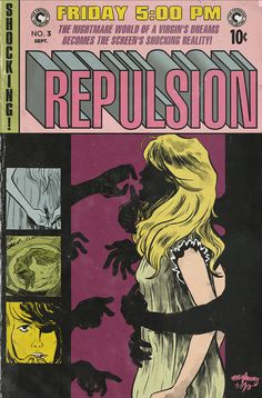 Repulsion Criterion Film Festival Poster  Illustration by Paul Maybury / Design by Eric Skillman  via paulmay