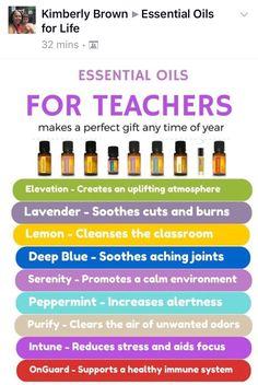Essential Oils for Teachers
