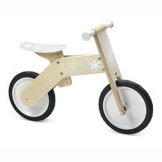 TreeHaus Wooden Balance Bike: $55