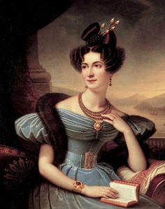 "Fine Arts Reproduction: Charles Boulanger de Boisfremont ""Emilie Sommariva-Seiliere / Boulanger"""