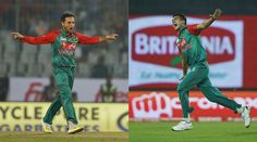 """Bangladesh fast bowler Taskin Ahmed and left-arm spinner Arafat Sunny have beenreported for suspect bowling actions. They were reportedduring ngladesh's opening match against the Netherlands in the ICC World Twenty20.The ICC media release says : """"The ICC is working with the ngladesh cricket team management to confirm times for the independent testing of both bowlers at the ICC-accredited testing centre in Chennai. The ICC regulations state """"...every reasonable effort shall be made for the"""