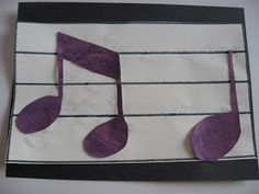 """Make a """"name that tune"""" banner to decorate your music space!  Get more ideas and win prizes for sharing by joining our creative community: http://community.takelessons.com/News #kidscrafts #musicalcrafts #funforkids #kidsmusic #musiccrafts #craftsforkids"""