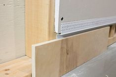 Upgrade your baseboards today by incorporating Reveal details into your design with Architectural Z Shadow Bead. How To Install Baseboards, Modern Baseboards, Interior Trim, Interior Walls, Architecture Details, Interior Architecture, Drywall Installation, Baseboard Trim, Arquitetura