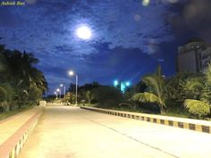 IBS Hyderabad campus on a full moon day
